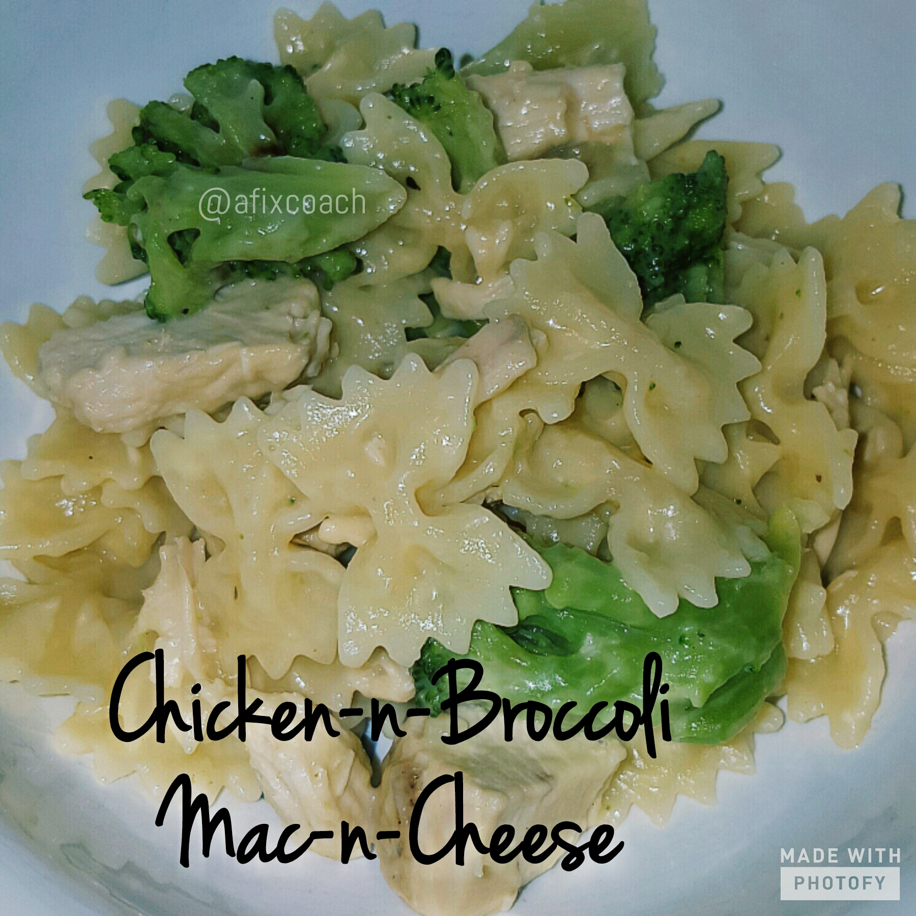 Chicken & Broccoli Mac-n-Cheese